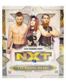 2020 Topps WWE NXT Hobby 8-Box Case