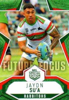 2020 NRL Traders Future Focus FF12 Jaydn Su'a Rabbitohs