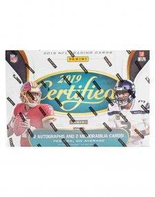 2019 Panini NFL Football Certified Hobby Box