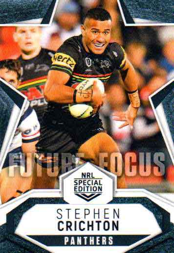2020 NRL Traders Future Focus FF11 Stephen Crichton Panthers