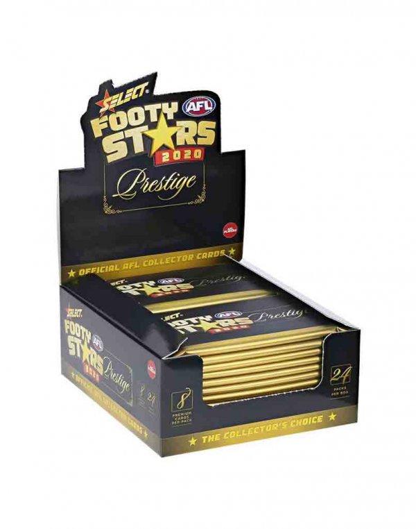 2020 Select AFL Footy Stars Sealed Trading Card Box
