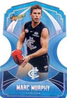 2020 AFL Footy Stars Ice Blue Diecuts BDC23 Marc Murphy Blues