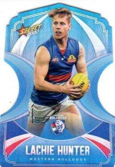 2020 AFL Footy Stars Ice Blue Diecuts BDC140 Lachie Hunter Bulldogs