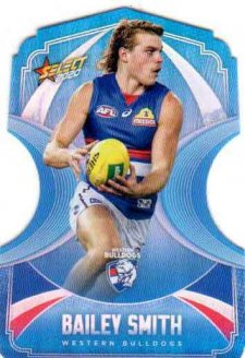 2020 AFL Footy Stars Ice Blue Diecuts BDC144 Bailey Smith Bulldogs