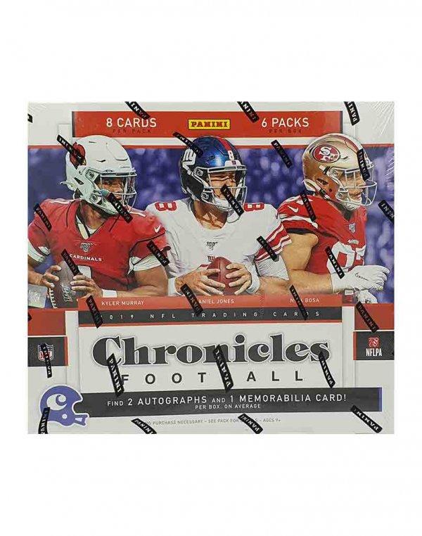 2019 Panini NFL Football Chronicles Hobby Box
