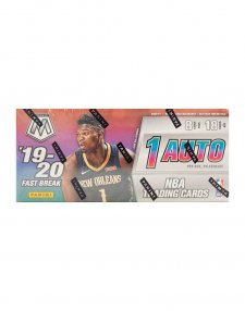 2019-20 Panini NBA Basketball Mosaic Fast Break Hobby Box