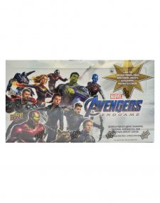 2020 Upper Deck Marvel Avengers Endgame Captain Marvel Hobby Box