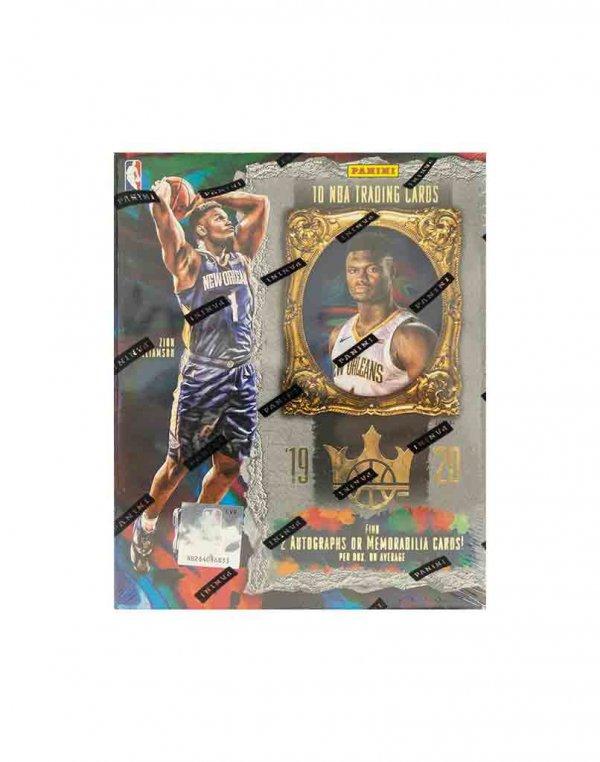2019-20 Panini NBA Basketball Court Kings Hobby Box