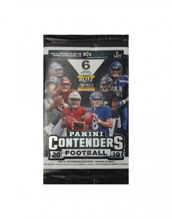 2019 Panini NFL Football Contenders Hobby Packet