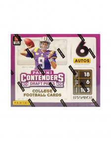 2020 Panini NFL Football Contenders Draft Picks Hobby Box