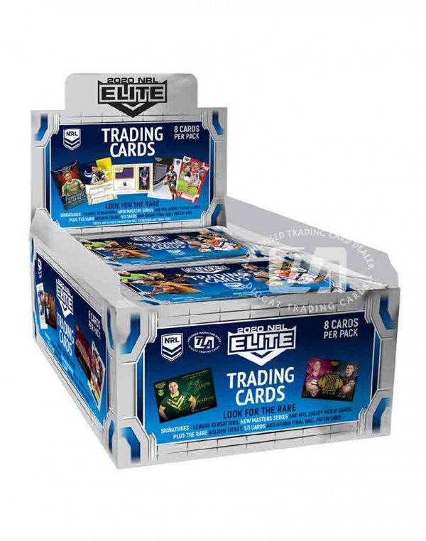 2020 TLA NRL Elite Sealed Trading Cards Box