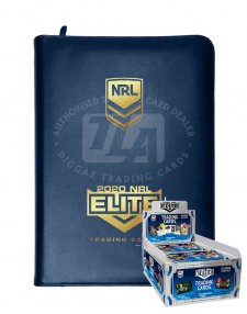 2020 TLA NRL Elite Sealed Trading Cards Box and Album Combo