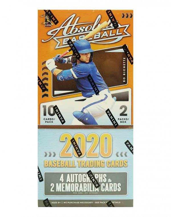 2020 Panini MLB Absolute Baseball Hobby Box