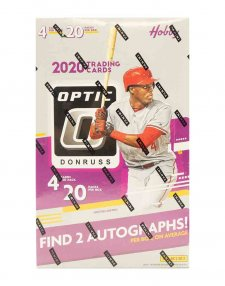 2020 Panini MLB Baseball Donruss Optic Hobby Box