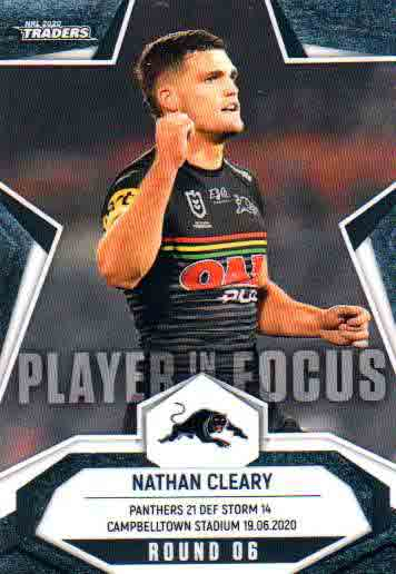 2020 NRL Traders Player in Focus Round 6 IF6 Nathan Cleary Panthers