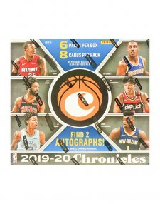 2019-20 Panini NBA Basketball Chronicles Hobby Box