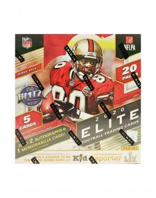 2020 Panini NFL Football Elite Hobby Box