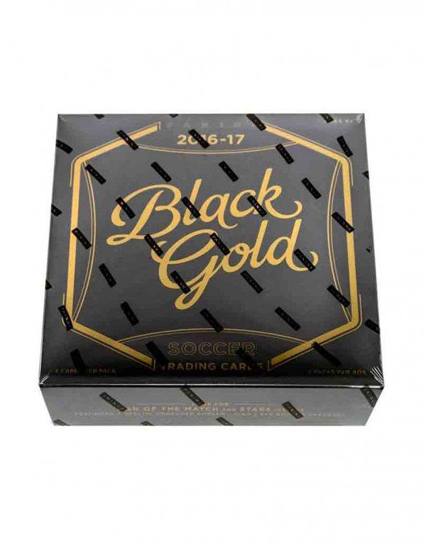 2016/17 Panini Soccer Black Gold Hobby Box