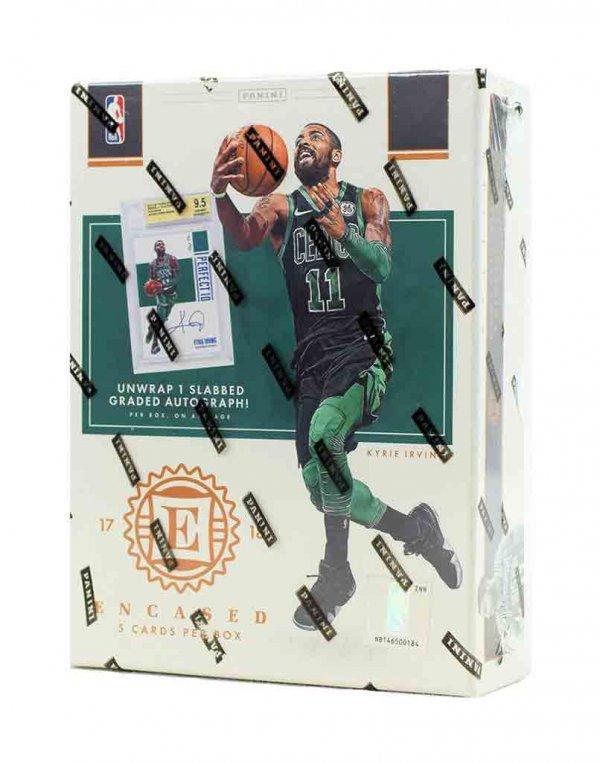 2017-18 Panini NBA Basketball Encased Hobby Box