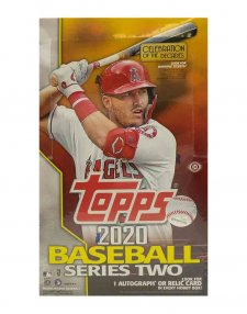 2020 Topps MLB Baseball Series Two Hobby Box