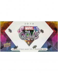 2016 Upper Deck Marvel Gems Hobby Box