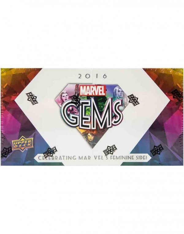 2016 Upper Deck Marvel Gems Hobby Box