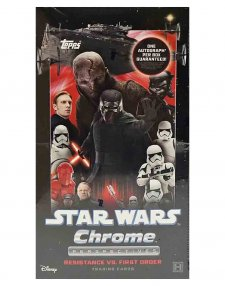 2020 Topps Star Wars Chrome Perspectives: Resistance vs The First Order Hobby Box
