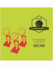 2020/21 Hit Parade Autographed Three Peat Basketball Box - Series 3