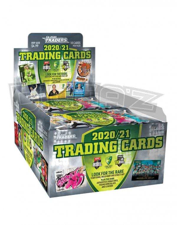 2020/21 TLA CA Traders Sealed Trading Cards Box