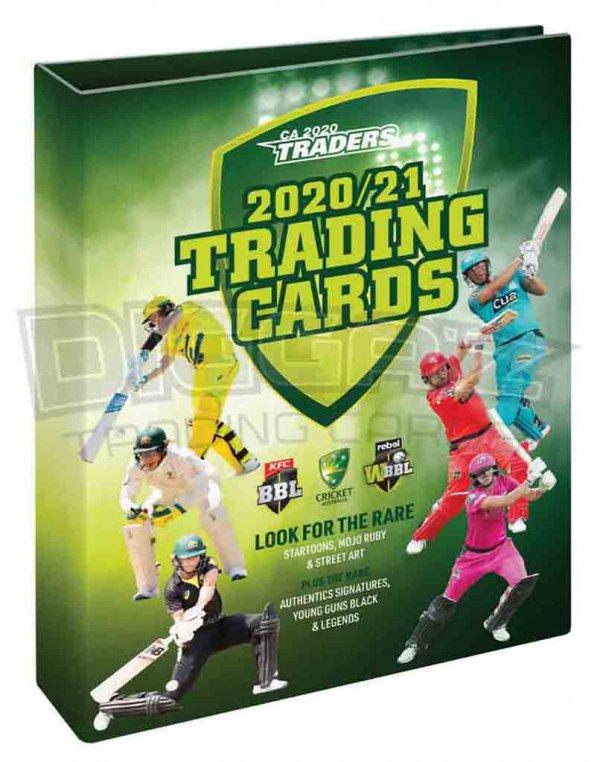 2020/21 TLA CA Traders New Trading Cards Folder / Album