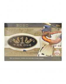 2020 Topps MLB Baseball Tier One Hobby Box