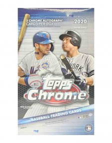 2020 Topps MLB Baseball Chrome Hobby Box