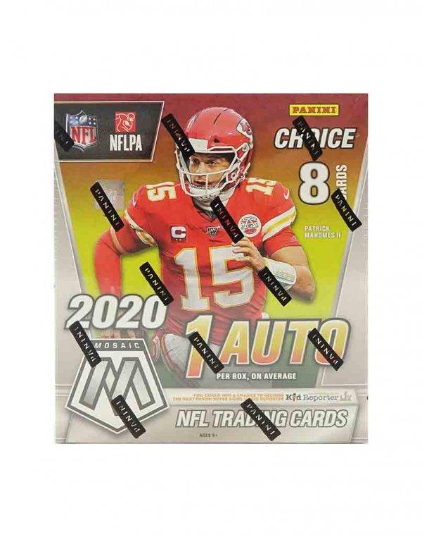 2020 Panini NFL Football Mosaic Choice Box