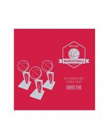2019/20 Hit Parade Autographed Three Peat Basketball Box - Series 5