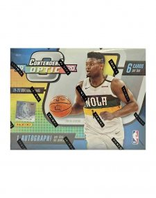2019-20 Panini NBA Basketball Contenders Optic Hobby Box