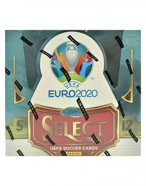 2019/20 Panini Soccer Select Uefa Euro Hobby Box