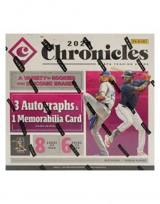 2020 Panini MLB Baseball Chronicles Hobby Box