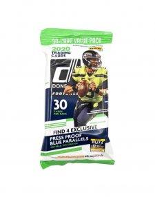 2020 Panini NFL Football Donruss Fat Pack