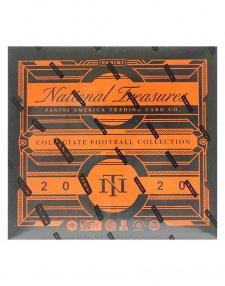 2020 Panini NFL Football National Treasures Collegiate Hobby Box