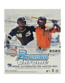 2020 Topps MLB Baseball Bowman Chrome Hobby Box