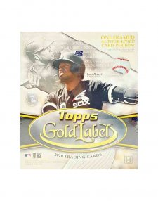 2020 Topps MLB Baseball Gold Label Hobby Box
