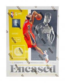 2019-20 Panini NBA Basketball Encased Hobby Box