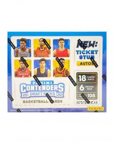 2020-21 Panini NBA Basketball Contenders Draft Hobby Box