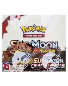 Pokemon TCG Sun & Moon Crimson Invasion Booster Box