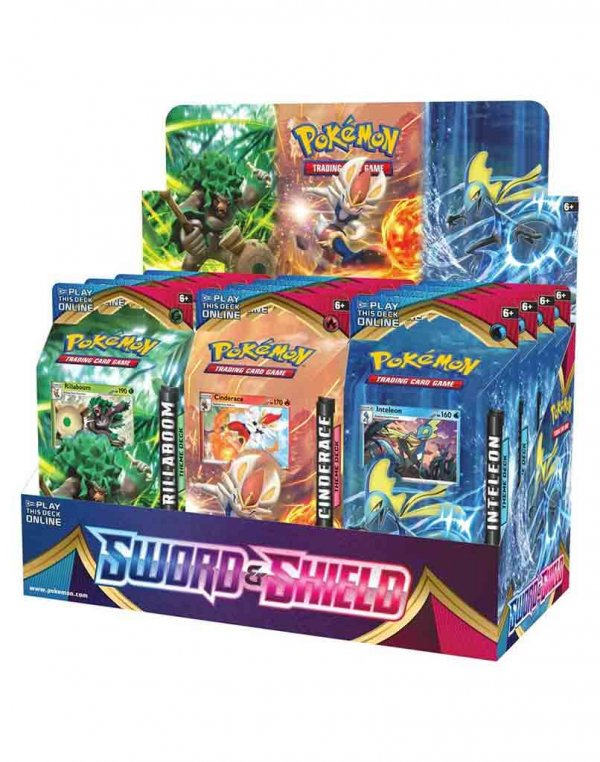 Pokemon TCG Sword & Shield Theme Deck