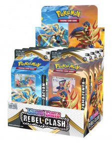 okemon TCG Sword & Shield Rebel Clash Theme Deck