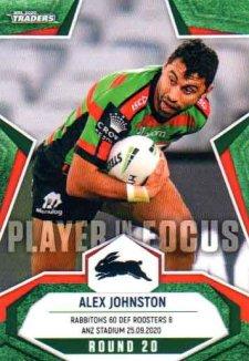 2020 NRL Traders Player in Focus Round 20 IF20 Alex Johnston Rabbitohs