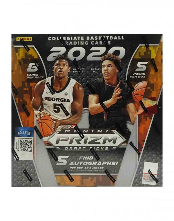 2020-21 Panini NBA Basketball Prizm Draft Picks Hobby Box