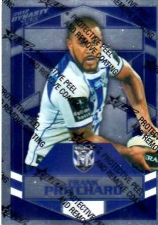 2012 NRL Dynasty Parallel SP37 Frank Pritchard Bulldogs