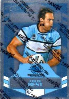 2012 NRL Dynasty Parallel SP41 Colin Best Sharks
